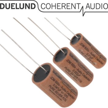 Duelund JDM Silver Capacitors 600Vdc