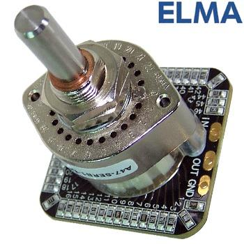 Elma A47 Series SMD stepped attenuator - MONO version