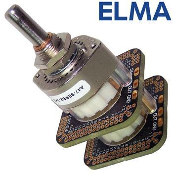 Elma 2 pole 47 way switch, A47-SERB2-THT