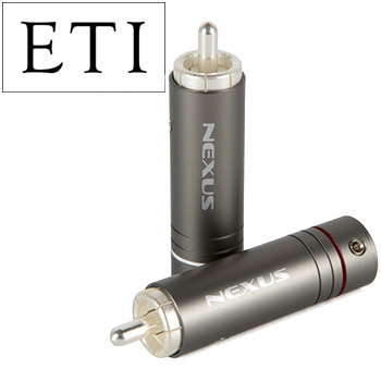 ETI Research Nexus RCA Plug, Silver Plated