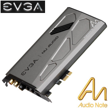 EVGA Nu Audio Audio Card - Engineered by Audio Note | Hifi Collective