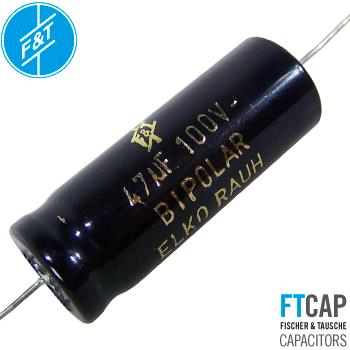 F&T Electrolytic Bi-Polar Type ATBI Capacitors