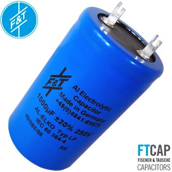 F&T Electrolytic Type LF Radial Capacitors