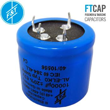 F&T Electrolytic Type SI4PH Radial Capacitors