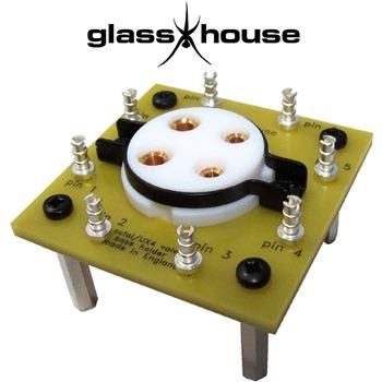 Glasshouse Octal/UX4 valve holder board