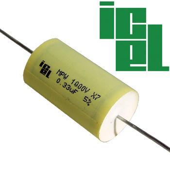 ICEL MPW Metallized Polypropylene Capacitors