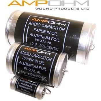 Ampohm Aluminium Foil, Paper in Oil Capacitors