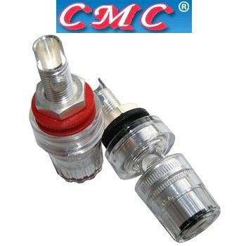 CMC-858-M-AG Silver Plated medium posts