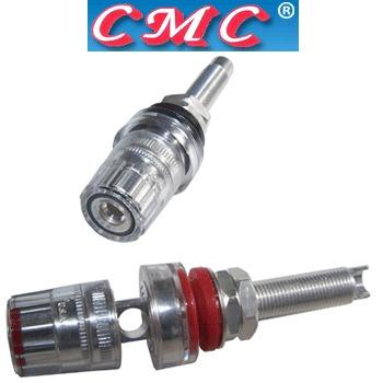 CMC-858-L-AG Silver plated, long speaker posts