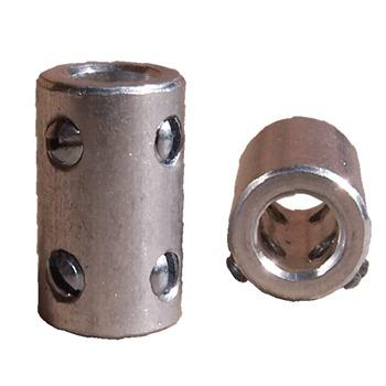 Shaft Coupler, for 6 - 6.35mm diameter shafts