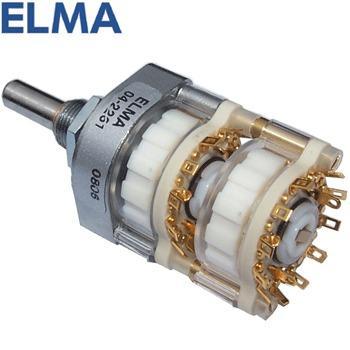 Elma 4 pole 6 way switch, 04-2264 | Hifi Collective