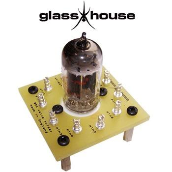 Glasshouse B9A valve holder tag board