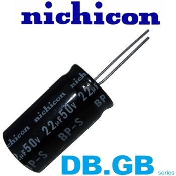 Nichicon GB & DB Type Electrolytic Capacitor