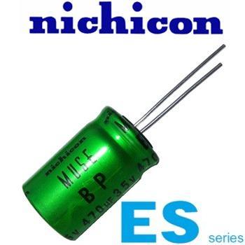 ES Nichicon Electrolytic Capacitors