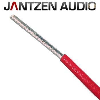 Jantzen Silver Plated Copper Wire Speaker Cable, AWG 13