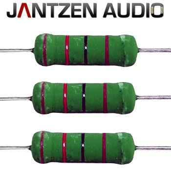 Jantzen 5W Superes resistors