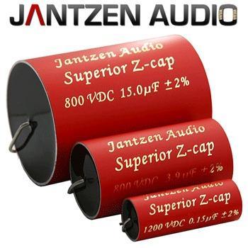 Jantzen Silver Gold Z-Cap Capacitor 0.1 uF 1200 VDC