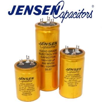 Jensen Radial Electrolytic Capacitors (3 solder tag)