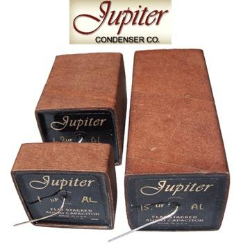 Jupiter VT Flat Stacked Paper Beeswax Cryo Capacitors