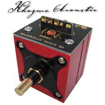 Khozmo Mono Shunt Stepped Attenuator, 48 step MKII