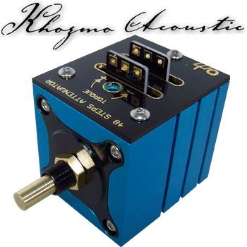 Khozmo Stereo Series Stepped Attenuator, 48 step
