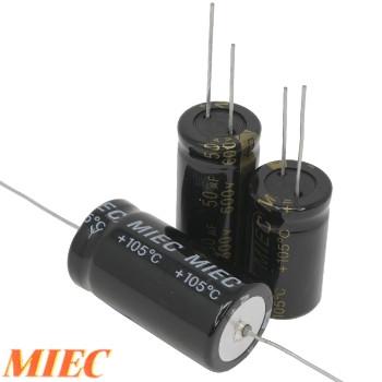 MIEC 600Vdc Electrolytic Capacitors