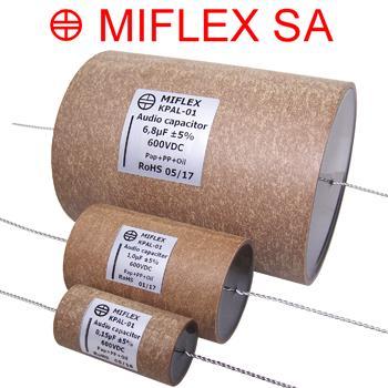 Miflex KPAL Aluminium Foil Capacitors
