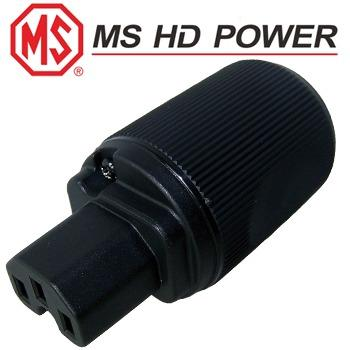 MS HD Power MS9315 IEC Plug, polished un-plated