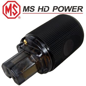 MS HD Power MS9315G IEC Plug, gold plated