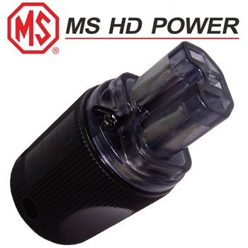 MS HD Power MS9315S IEC Plug, Silver plated