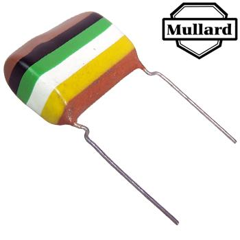 Mullard Tropical Fish Capacitors