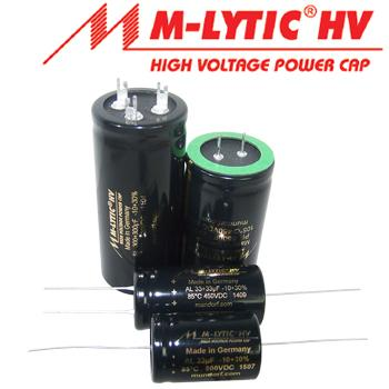 Mundorf Mlytic HV Electrolytic Capacitors