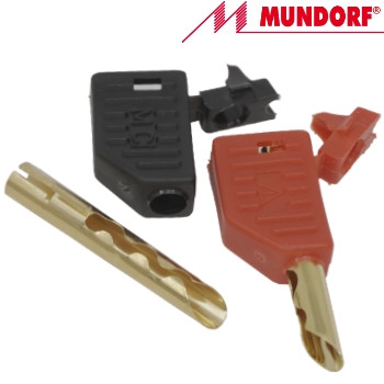 MCONBP Mundorf MConnect Beryllium Copper Banana Plug, gold plated