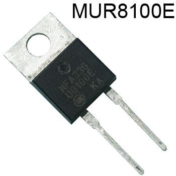 MUR8100E Ultrafast Diode