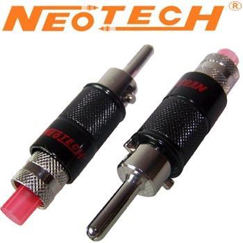 Neotech OFC Rhodium Plated Banana Plug NC-01675RH