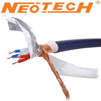 Neotech NEI-3001 MKIII Copper & Silver Plated Copper Interconnect Cable (1m)