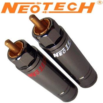 Neotech NER-OCC GD UP-OCC Copper, Gold Plated RCA Plug