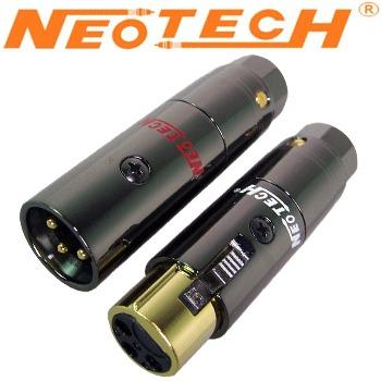 Neotech NEX-OCC GD UP-OCC Copper, Gold Plated XLR Plugs
