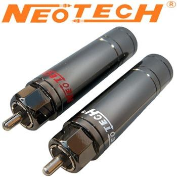 Neotech UP-OCC Copper with Rhodium Plated RCA Plug NER-OCC RH