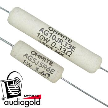 Ohmite Audio Gold Resistors