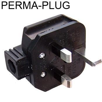 Permaplug Silver Plated Mains Plug, cryogenically treated