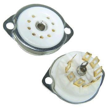Ceramic chassis mount, gold plated - SK9CC22-G-N