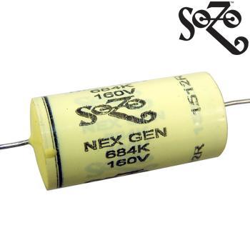SoZo NextGen Yellow Mustard Vintage Capacitors