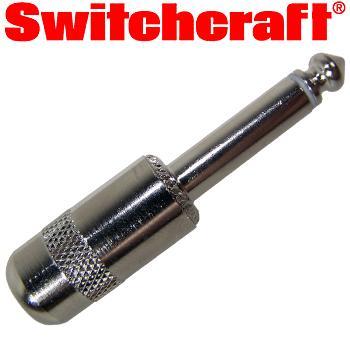 Switchcraft 1/4 inch Jack Plug Mono Short Body