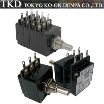 TKD CP-2511, 2CP-2511 & 4CP-2511 Series Potentiometers