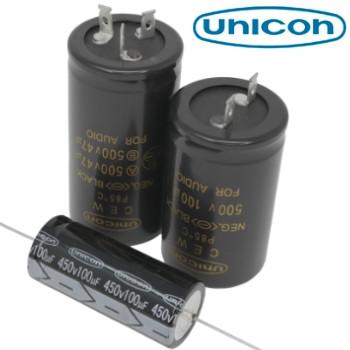 Unicon Audio Grade Electrolytic Capacitors