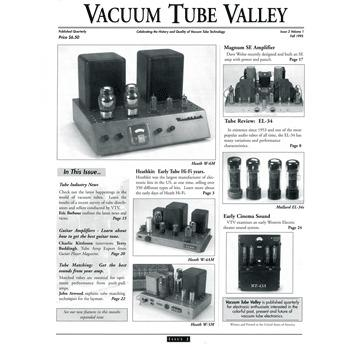 Vacuum Tube Valley: Issue 02 Volume 1