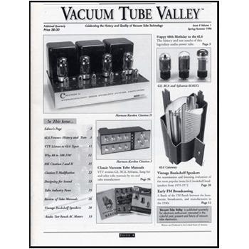 Vacuum Tube Valley: Issue 04