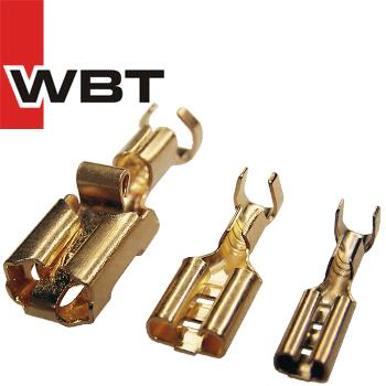WBT flat push-on cable shoes, 0657 0656 0655