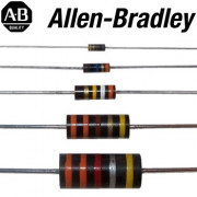 Big stocks of Allen Bradley 0.125 Watt resistors now in